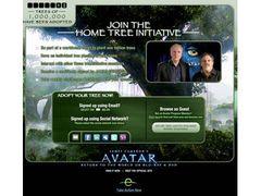 『アバター』DVDを1本買うと、1本植樹される!『アバター』で地球を救え!