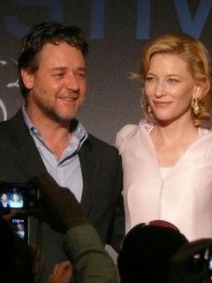 カンヌ、『ロビン・フッド』の上映で開幕!ラッセル・クロウとケイト・ブランシェット夫婦漫才!?