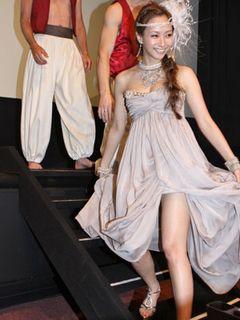 藤本美貴、太ももあらわなセクシードレスでマッチョな夫、庄司智春をベタ褒め!