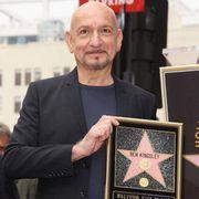 ベン・キングズレー、ハリウッドの星を獲得