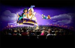 3D映像のアラジンと一緒に空を飛ぶ!東京ディズニーランドに新アトラクションが登場!