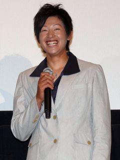 映画初出演の金メダリスト上野由岐子、サムライブルーに金メダル級のエール!「相手に気持ちで負けないで」