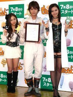 AKB48板野がアイドル役で「もやしもん」出演!ボンテージ姿の加藤夏希も大興奮!!