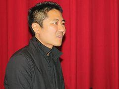 韓国の国際ドキュメンタリー映画祭のオープニングに想田和弘監督の『PEACE』
