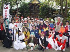 100人のお年寄りとコスプレ歴女たちが集結!桜田烈士ゆかりの地をたどるウォーキングイベント