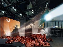 TBS赤坂サカスに全長15メートルの巨大ヤマト出現!波動砲も発射可能!?