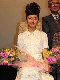 美少女女優の忽那汐里、第20回映画祭TAMA CINEMA FORUMで最優秀新進女優賞を受賞!