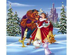 ディズニー『美女と野獣』映画にはなかった野獣とベルのクリスマス映像クリップを公開!