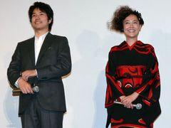 『ノルウェイの森』松山ケンイチと艶やか着物の菊地&水原、世界に向けて大ヒット宣言!