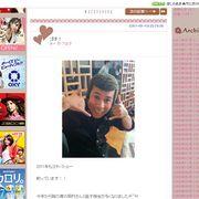 佐々木希のブログに岡村隆史登場!満面の笑みで健在ぶりアピール!