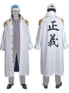 「ONE PIECE」の海軍コートが満を持して発売!背中にはもちろん正義の2文字!1万円以下と意外にお手ごろ価格?