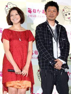 小泉今日子&永瀬正敏が結婚発表以来16年ぶりに公の場にそろって登場!