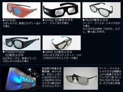3D映画の劇場最前線!5つの方式からベスト・ワースト3D映画までギモンを解決!