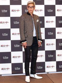 BIGBANGのT.O.Pことチェ・スンヒョン、撮影中に失明危機!生傷だらけの撮影に