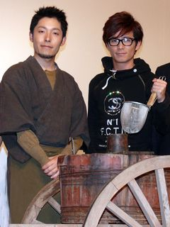 映画初主演のオリエンタルラジオ、「チャラ男」キャラを封印!そば作りを披露し原作者も「癒しの味」と大絶賛!!