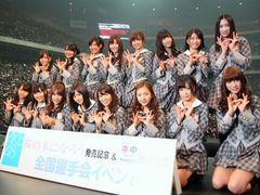 AKB48の握手会に2万2,500人!「桜の木になろう」ミリオン突破に前田敦子感激!3rdアルバム「ここにいたこと」発売も発表!