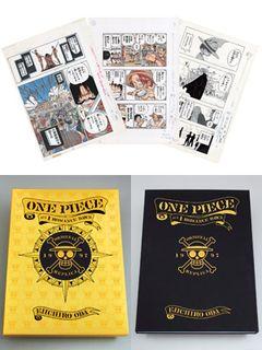 人気マンガ「ONE PIECE」第1話原稿を完全複製 下書き指示なども再現したシリアルナンバー付きBOX発売