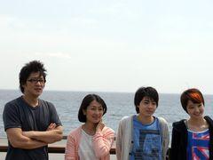 液状化現象起こる千葉県浦安市で撮影中の映画『カルテット!』、クランクアップ