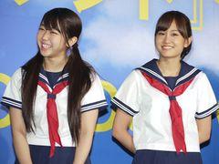 セーラー服姿のAKB前田敦子が宣誓!『もしドラ』映画版イベントで峯岸みなみは大泉洋に見せてもいいパンツ着用を暴露される