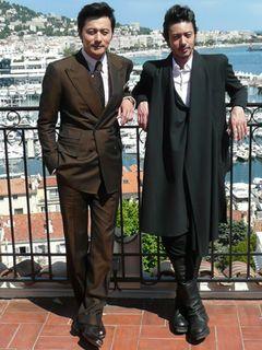 オダギリジョー&チャン・ドンゴンにカンヌでインタビュー 東日本大震災がきっかけで生まれた絆