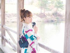 """北川景子、あでやかな浴衣姿を披露!六つの""""夏スタイル""""を提案!"""