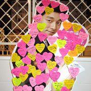 コン・ユ、手書きサイン入りの激レア名刺が劇場に投入!たった1日!数量限定で争奪戦ぼっ発!?