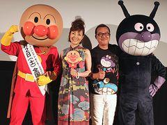 宮城県名取市で『それいけ!アンパンマン』舞台あいさつ 被災地の子どもたちに笑顔を届ける