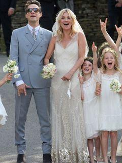 スーパーモデルのケイト・モスが結婚!ジュード・ロウやナオミ・キャンベルも式に参列