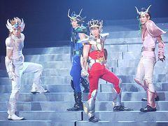 ミュージカル聖闘士星矢の全ぼうが明らかに! 聖衣(クロス)もペガサス流星拳も舞台で再現!
