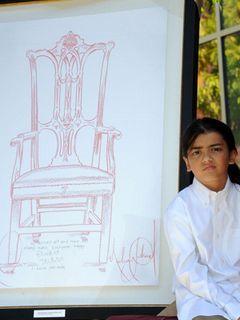 マイケル・ジャクソンさんの子どもたち、子ども病院にマイケルさんが描いた絵を寄贈