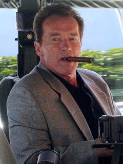シュワちゃん、禁煙のザルツブルグ空港で葉巻を吸って訴えられる?