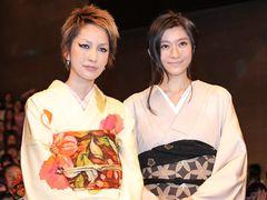 篠原涼子、中島美嘉と和服姿でツーショット!妊娠中の第2子に「大事に守っていきたいですね」
