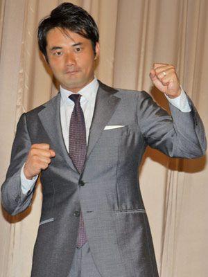 初当選したときの気持ちで演技に挑戦!-杉村太蔵(写真は映画『スイッチを押すとき』イベント時)
