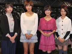 夏菜ら女子キャストたちが、GANTZカフェでガールズトーク! 美ボディの秘訣も明かす!