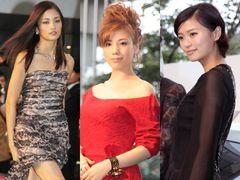 黒木・仲・榮倉があでやかな美の競演!華やかなドレス姿で魅了!