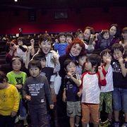 やなせたかし原作のアニメ作品を映画化!被災地・宮城で上映!野沢雅子戸田恵子、子どもたちの明るい表情に満面の笑顔!