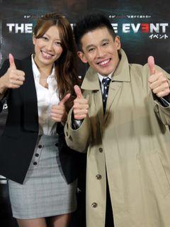 柳沢慎吾と里田まい、名コンビ誕生! 今年ナンバーワンのイベントは!?