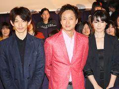 『ワイルド7』初日を迎えた瑛太、トイレのおばさんから自信もらった!?深田恭子はアクション映画に開眼!