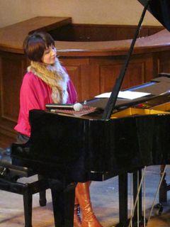 ジブリ美術館にピアニストの西村由紀江が登場!!ジブリ曲の生演奏に子どもたちは大喜び!!