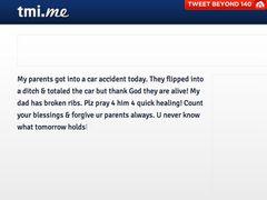 ジャスティン・ビーバーの祖父母の車が大事故 祖父は肋骨を骨折