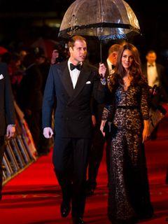 スピルバーグ監督の新作『戦火の馬』のプレミアに英ウィリアム王子とキャサリン妃が出席