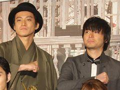 元日婚を発表したばかりの山田孝之、会場から「結婚おめでとう!」と祝福!!