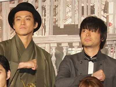 元日婚を発表したばかりの山田孝之、会場から「結婚おめでとう!」と祝福!! , シネマトゥデイ