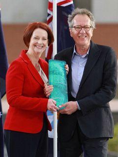 ジェフリー・ラッシュ、故郷で「オーストラリアン・オブ・ザ・イヤー」を受賞
