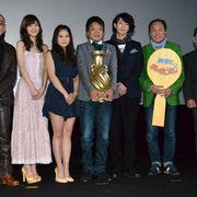 映画初主演のほっしゃん。DV妻役・麻生久美子の演技に「リアルに怖かった」