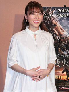 矢沢心、夫・魔裟斗との赤ちゃんは「女の子です」 妊娠発表後初の公の場に登場!
