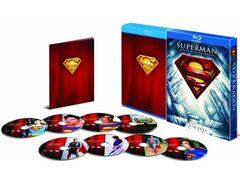 『スーパーマン』劇場公開作品のすべてを収録!謎の発売延期から約1年…ついに初ブルーレイ化作品も含む8枚組がリリース