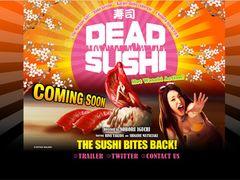 「これだから日本が好きなんだ!」海外ユーザー大歓喜!寿司が人類にキバを向く井口昇監督『デッド寿司』予告編にアクセス殺到!