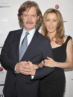 ハリウッドの星を獲得した夫婦ウィリアム・H・メイシーとフェリシティ・ハフマン 合同式典を行うことに