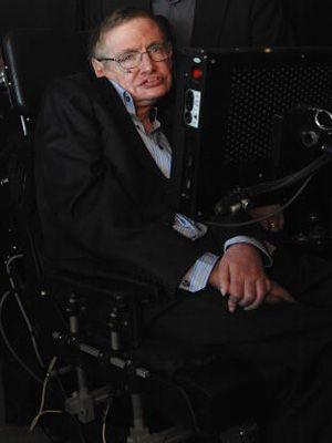 車椅子の物理学者スティーヴン・ホーキング博士 「... 車椅子の物理学者スティーヴン・ホーキング